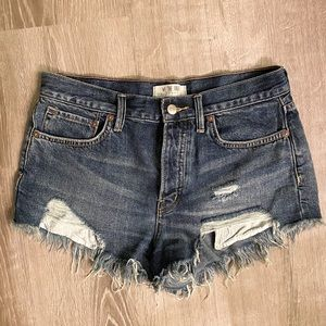 FREE PEOPLE Denim Shorts size 27